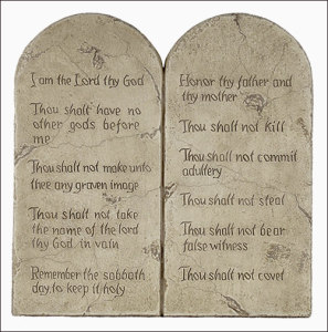 10commandments 297x300 LEGALISM: My Recovery From This Addiction