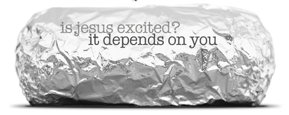 jesus excited Is Jesus Excited? It Depends On You.